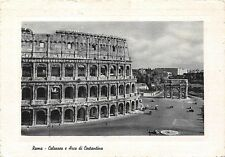 Italy Roma Colosseum and Arc of Costantine Colisee et l'Arc de Costantin