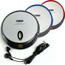 Naxa NPC319 Slim Personal Portable Compact Disc CD Player - Assorted Colors