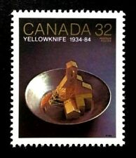 Canada Stamp #1009 Yellowknife Gold Mine Pan  (1984)  MNH