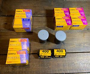 LOT Of NEW Expired Kodak Film (4)400 VC (2)160 NC (2)400 NC (2)400  Portrait Pro