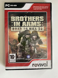 Brothers In Arms Road to Hill 30 PC DVD ROM New Sealed