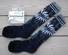 NWT SMARTWOOL PHD Slopestyle Light Elite Cushion Womens Ski Socks-M Ret@$25 NAVY