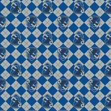 Harry Potter Flannel, Fabric By The Yard, Blue Argyle Ravenclaw,  TheFabricEdge