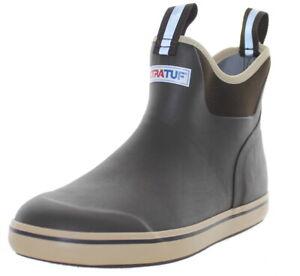 Xtratuf Men's Ankle Deck Waterproof Boots Brown