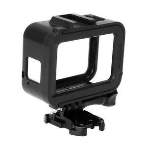 Protective Housing Case ABS Black Frame Mount for GoPro Hero 8 Action Camera TQ