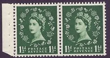Sb64 Wilding booklet pane Edward perf type E(½v) Unmounted Mnt/Mnh