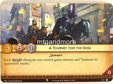 A Game of Thrones 2.0 LCG - 1x #u059 a Tourney for the King-Valyrian draft Pac
