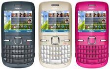 Nokia C3-00 New Unlocked Original Wifi Qwerty Keypad Camera Mobile Bar Phone Hot