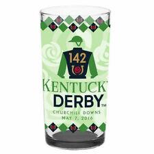 2016 Official Kentucky Derby Glass Nyquist 1st Place Equestrian
