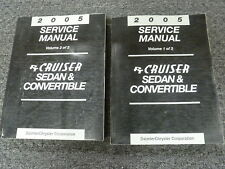 2005 Chrysler PT Cruiser Sedan & Convertible Shop Service Repair Manual Set