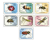KAM8809 Insects, ladybirds, bees, dragonflies and other 7 items