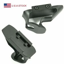 SHIFT Fore Grip SVG Angled Tactical Hand Short Stop Picatinny Rail Mount Black