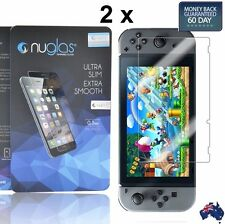 2 X Nuglas Nintendo Switch Tempered Glass Screen Protector for Nintendo Switch
