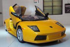 1:24 Scale Lamborghini Murcielago Roadster Yellow Motormax Diecast Model Car