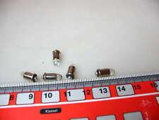 5 Stk LED-Leuchtmittel MS4,16-22 V warmweiß Spur H0 #LED7