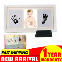 Baby Photo, Hand & Foot Cast Kit/Frame keepsake Gift 1st Print of Newborn