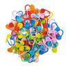 Knitting Crochet Hooks Locking Stitch Markers Nappy Pin Needle Clip Holder Craft