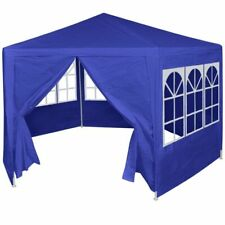 Outdoor Marquee With Side Walls Hexagonal Party Shelter Gazebo Waterproof Tent