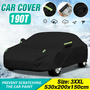 US Sadan Car Cover Universal Fit Outdoor Waterproof Snow Resistant Protection