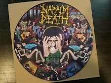 Napalm Death - From Enslavement to Obliteration LP, First Picture Disc Pressing