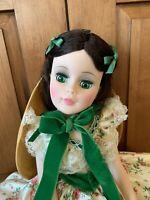 Madame Alexander Portrait Scarlett O'Hara Doll 21' 2255 Picnic Dress Mint in Box