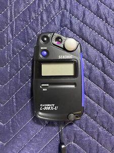 Sekonic L-308X-U Flashmate Light Meter 401-305 Used Once