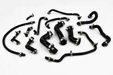Silicone Coolant & Breather Hoses fits Mazda Mx5 MK1 1.8 NA Stoney Black Miata