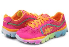New Girl's Skechers 80685L Go Run Ride Sneakers - Multi-Colored Size 12 (L23)
