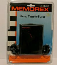 Memorex Personal Stereo Cassette Player And Headphones MR200 New Sealed