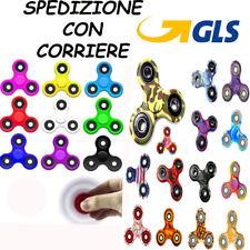 FIDGET SPINNER  PZ 1 GIOCO RILASSANTE CUSCINETTO 3D ANTI STRESS TASCABILE new t1