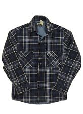 vintage fieldmaster flannel perma prest shirt