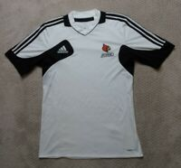 Adidas Climacool Louisville Cardinals Soccer Mens Black White T Shirt Sz Medium