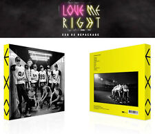 EXO [ LOVE ME RIGHT ] KOREAN VERSION- 2ND REPACKAGE ALBUM