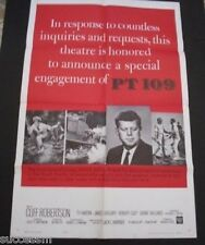 PT 109 Special Engagement Huge Movie Poster - John F Kennedy