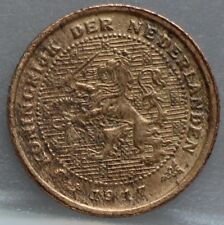 Nederland - The Netherlands halve cent 1917 - 1/2 cent 1917 KM# 138