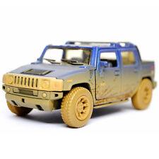 Kinsmart 2005 Hummer H2 SUT Diecast Display Toy Car 1:36 KT5097DY Muddy Blue