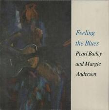 "Pearl Bailey & Margie Anderson Feeling The Blues 60s LP 12"" 33rpm UK vinyl (vg-)"