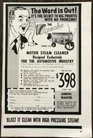 1961 Apache Motor Steam Cleaner Co Vermillion South Dakota Print Ad