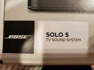 Bose solo 5 sound bar