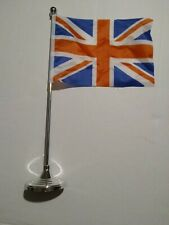 5.5 by 8 Inch Uk Great Britain Flag Mini desk top Stick Quality with base free