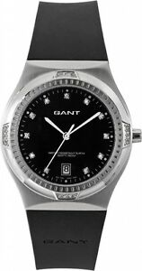 Gant Fairfax Womens Black Quartz S/Steel Watch 2 Year Int. Warranty W70191