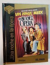PELICULA DVD LIBRO UNA NOCHE EN LA OPERA (HNOS MARX)