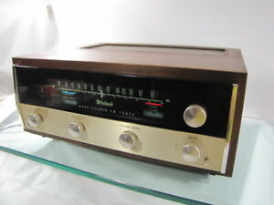 McIntosh MR71 (TUBE) FM Stereo Tuner with WOOD CASE
