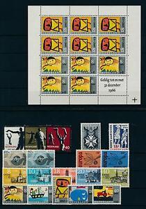 Netherlands Niederlande 1965 Year Set Complete incl. Miniature Sheet MNH