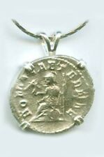 AD247 Silver Roman Denarius Coin Emperor Philip the Arab + Goddess of Rome Roma