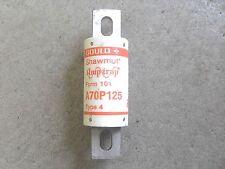 Gould Shawmut Amp-trap  Form 101 A70P125 Type 4 Fuse