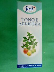 JUST Olio tono e armonia miscela pregiata di oli essenziali 10 ml