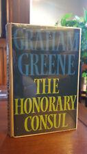 Graham Greene / THE HONORARY CONSUL (1973)  1st CAN - HC/DJ
