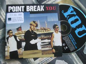Point Break YOU Warner Music WEA 294CDDJ  Promo CD Single
