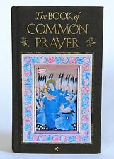 The Book of Common Prayer gilt clothbound cover color illuminations 1992